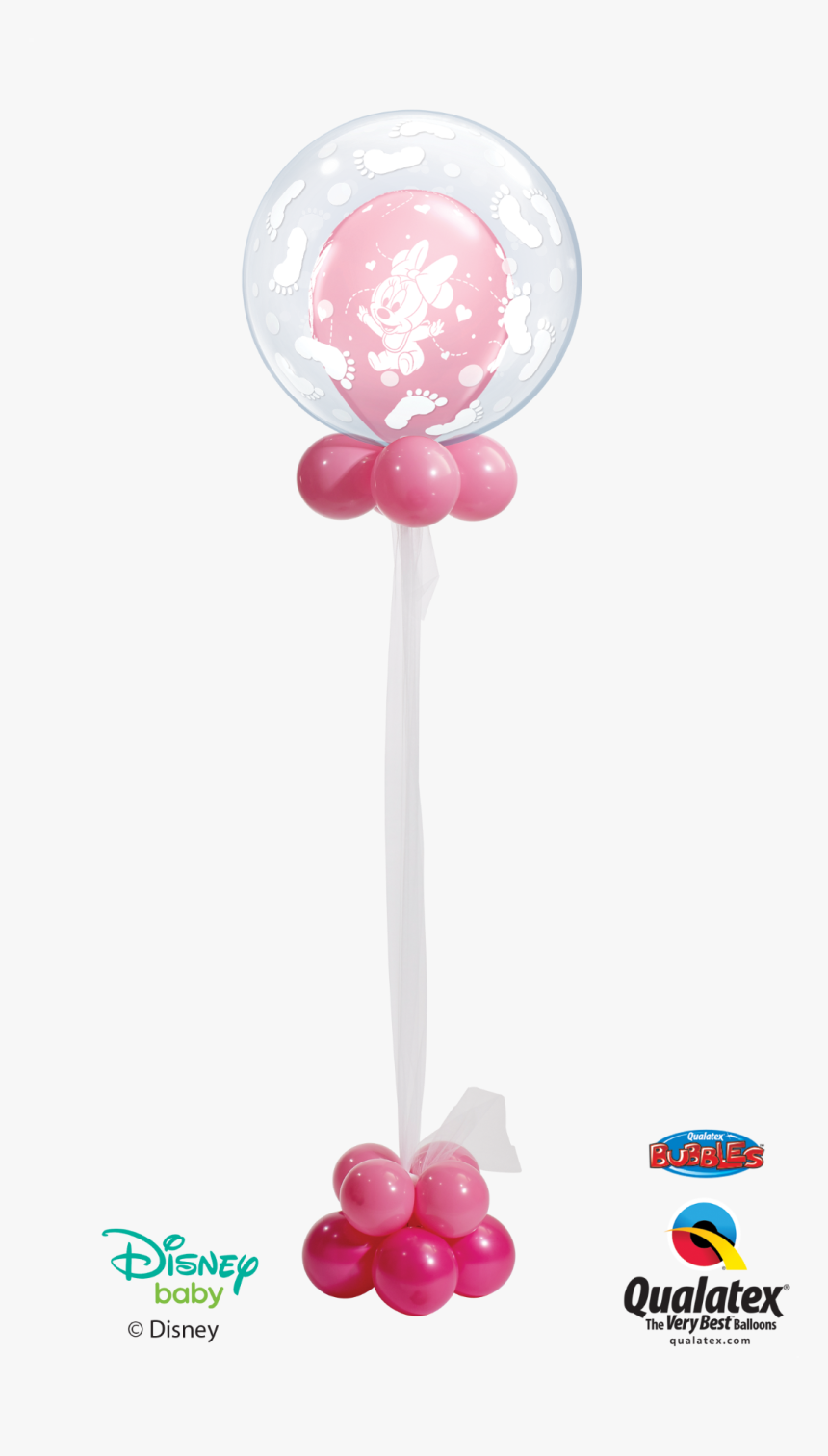 Disney Baby Celebration Bubble - Baby Mickey Mouse Balloons, HD Png Download, Free Download