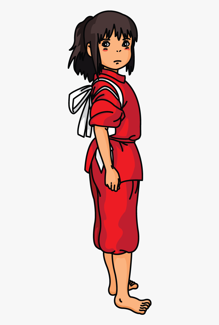 How To Draw Chihiro From Spirited Away Chihiro Spirited Away Characters Hd Png Download Kindpng