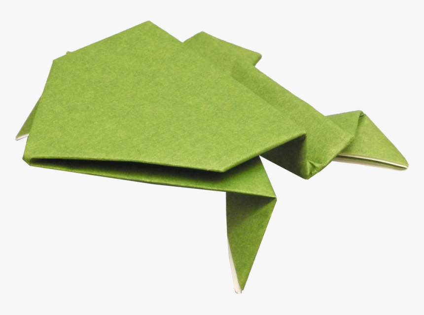 Easy Origami Jumping Frog - my first origami | 639x860