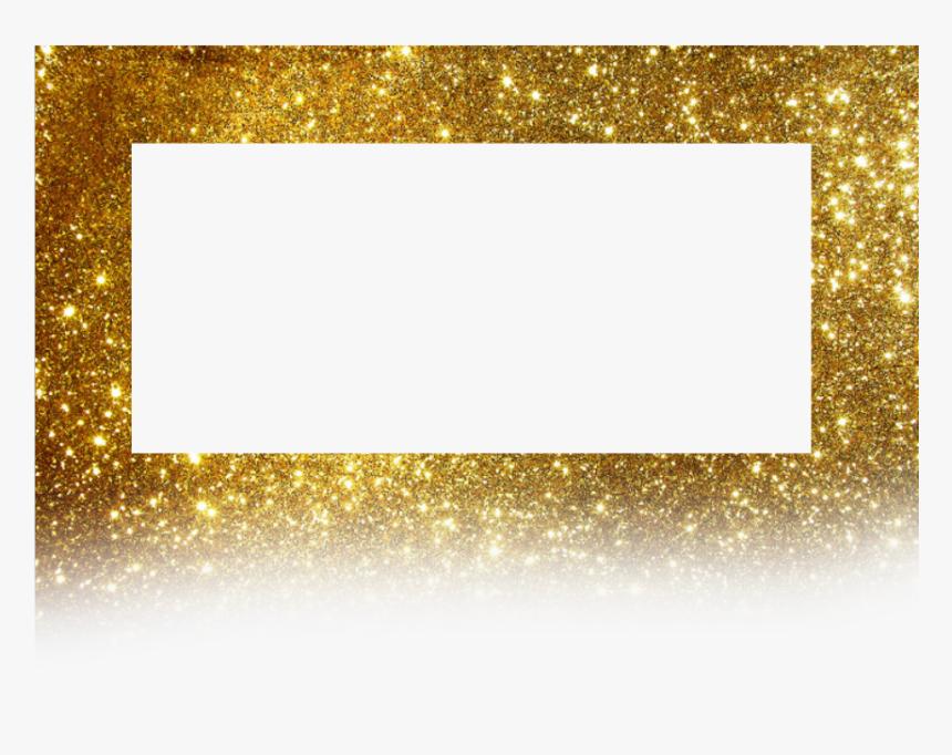 #frame #golden #background #borders #glitter - Glitter Gold Border Png, Transparent Png, Free Download