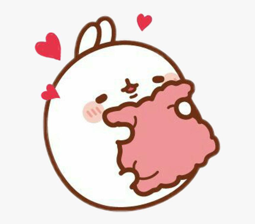 Pink Cute Aesthetic Kawaii Tumblr Soft Bunny Transparent Cute Kawaii Stickers Hd Png Download Kindpng