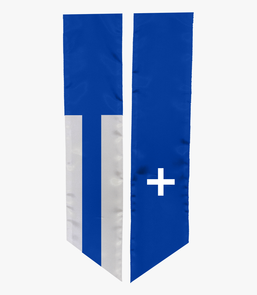 Study Abroad Sash For Greece - Christian Cross, HD Png Download, Free Download