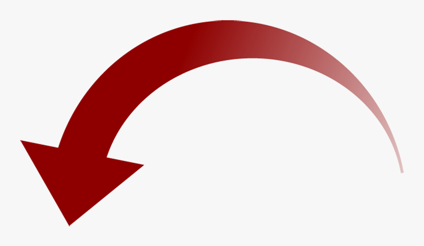 Curved Arrow Clipart - Curved Arrow No Background, HD Png Download, Free Download