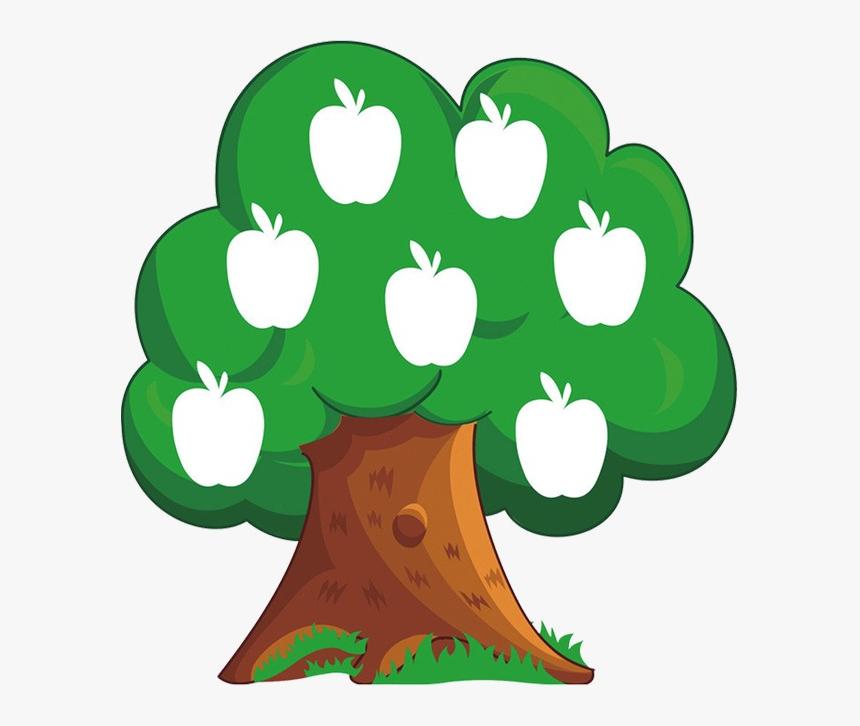 Apple Tree Clipart Cartoon Transparent Image And Png - Apple Tree Clipart, Png Download, Free Download