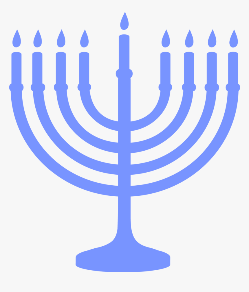 Hanukkah Png - Hanukkah Clipart Black And White, Transparent Png, Free Download