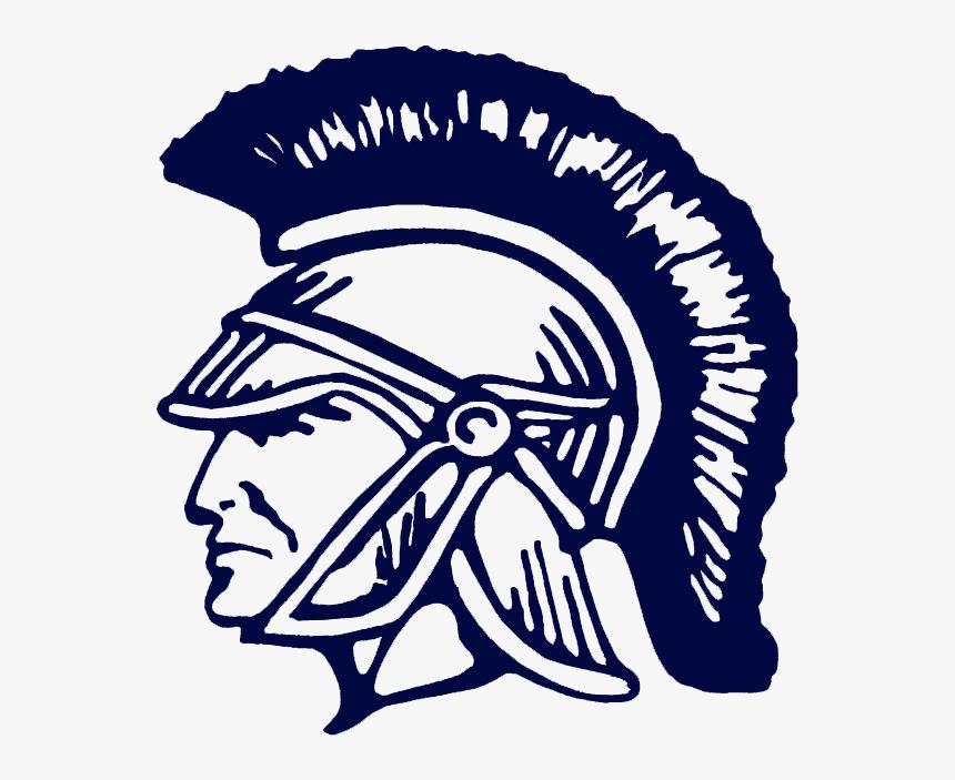 Spartan Clipart Trojan Head - Gordon Lee High School Logo, HD Png Download, Free Download