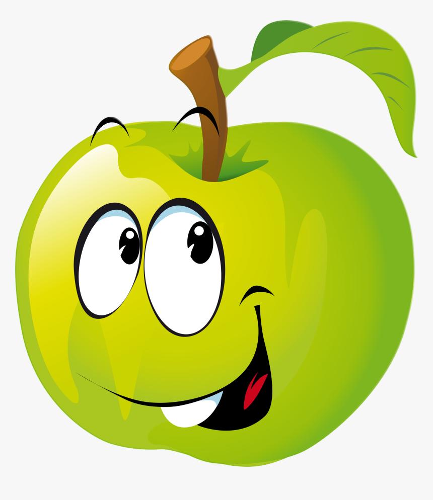 Plants Clipart Emoji - Apfel Clipart, HD Png Download, Free Download
