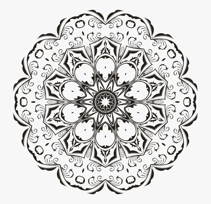 Transparent Flower Doodle Png - Circle, Png Download, Free Download