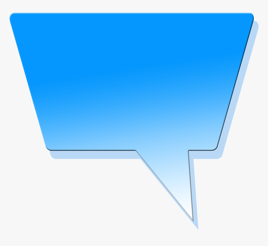 Transparent Dialog Box Png - Dialogue Box Blue Png, Png Download, Free Download