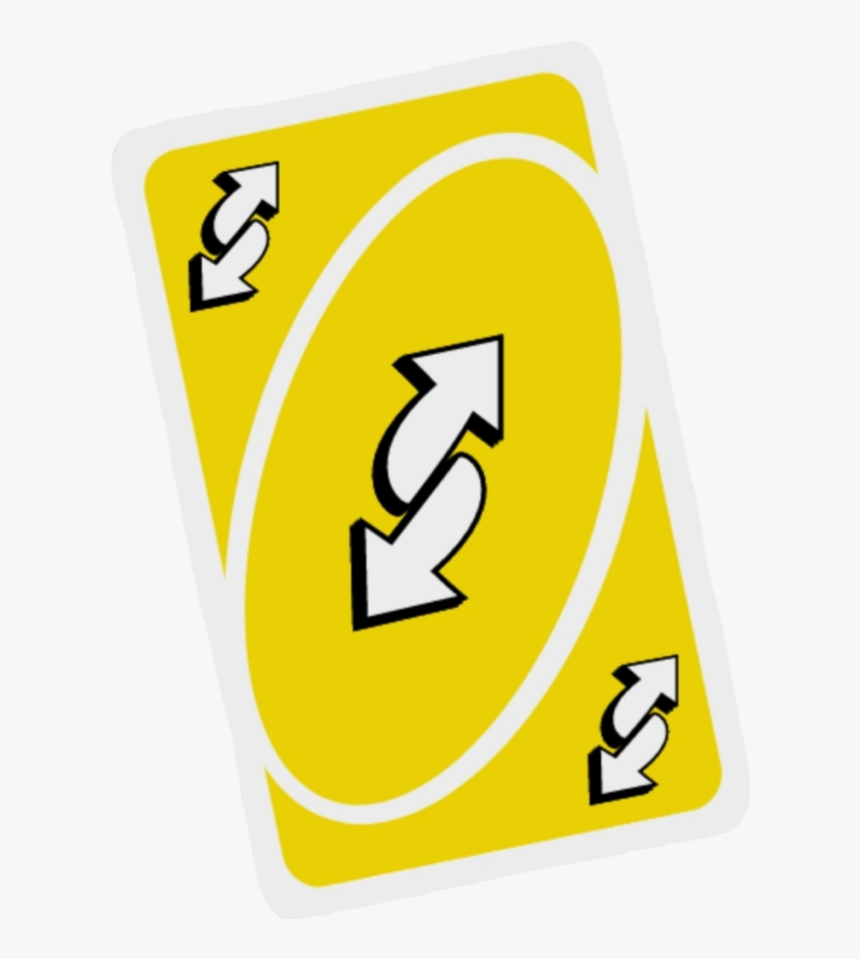 Image - Yellow Reverse Card Uno, HD Png Download, Free Download