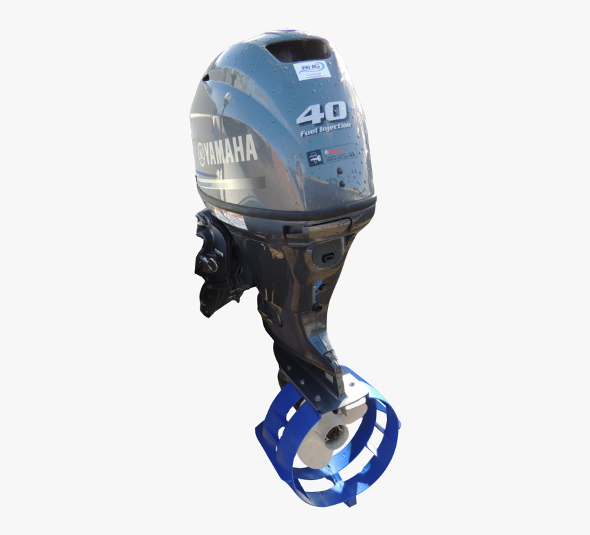 Yamaha 40 Hp Outboard With Prop Guard Edity - Football Gear, HD Png Download, Free Download