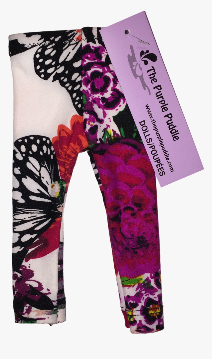 Butterfly Bloom Doll Leggings - Pajamas, HD Png Download, Free Download
