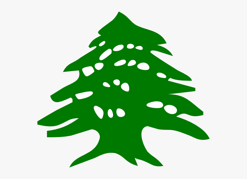 Cedar Tree Lebanon Flag, HD Png Download, Free Download