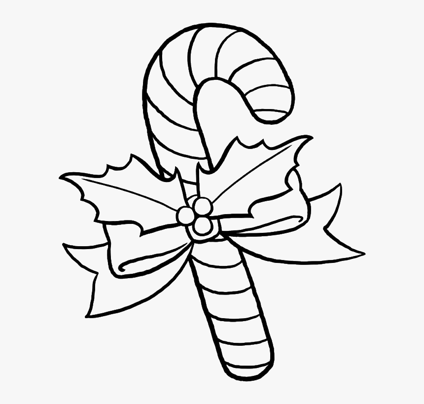 Pretty Sweet Candy Coloring Pages Christmas Candy Cane Coloring Pages Hd Png Download Kindpng