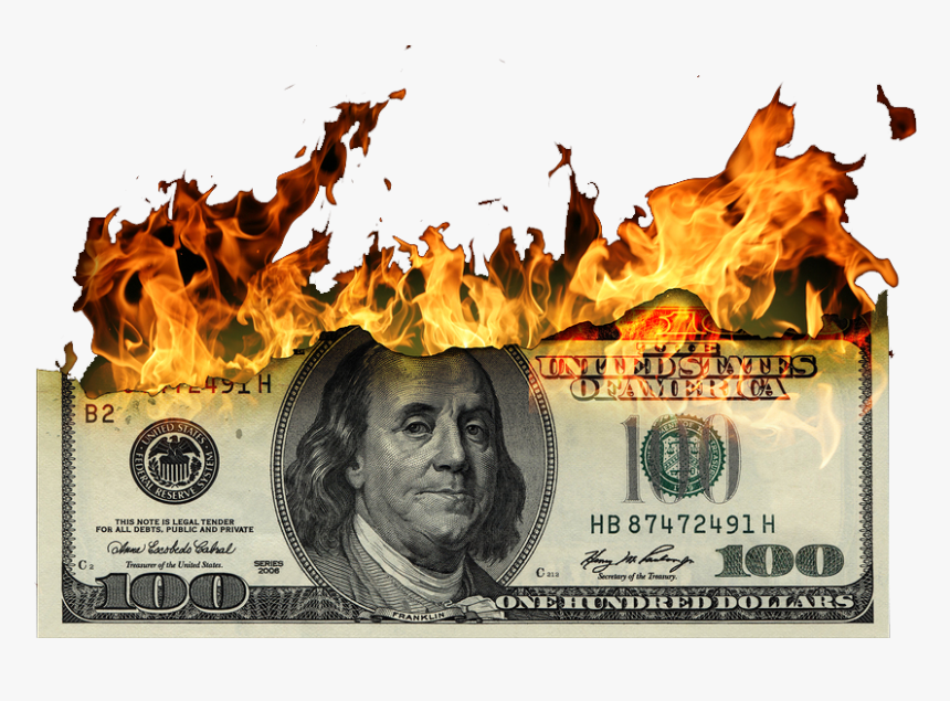 100 Dollar Bill, HD Png Download, Free Download