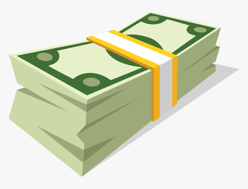 Vector Stock Collection Of High Quality Free Cliparts - Cartoon Money Stack Png, Transparent Png, Free Download