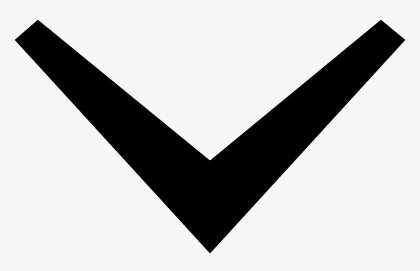 Transparent Chalk Arrow Png - Down Arrow Vector Png, Png Download, Free Download