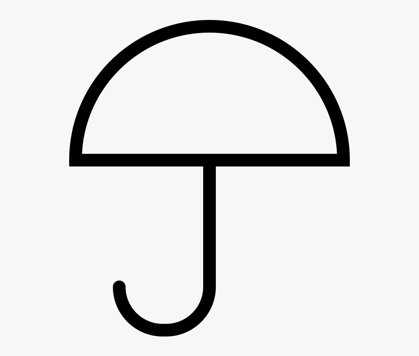 Umbrella Line Icon, HD Png Download, Free Download