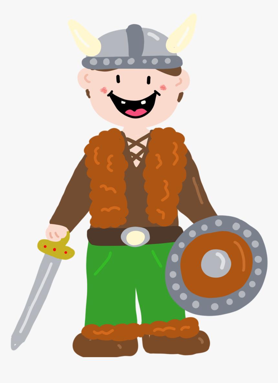 Viking, History, Cute Viking, Viking Boy, Warrior - Cute Viking Warrior, HD Png Download, Free Download