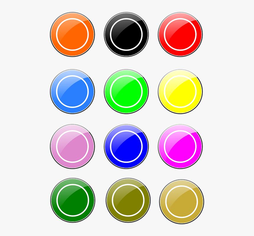 Thumb Image - Circulos De Colores Brillantes, HD Png Download, Free Download