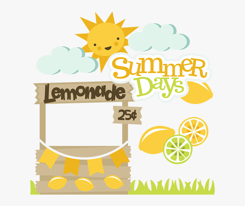 Transparent Stand Clipart - Miss Kate Cuttables Summer, HD Png Download, Free Download