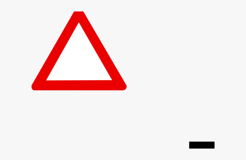 Transparent Caution Clipart - Traffic Sign, HD Png Download, Free Download