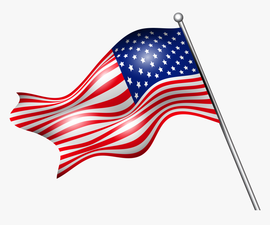 Free Png Usa Independence Day - Flag Independence Day 4th Of July Png, Transparent Png, Free Download