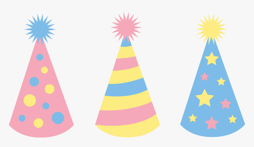 Party Hat Pink Birthday Clip Art Free Clipart Images - Birthday Hat Vector Png, Transparent Png, Free Download