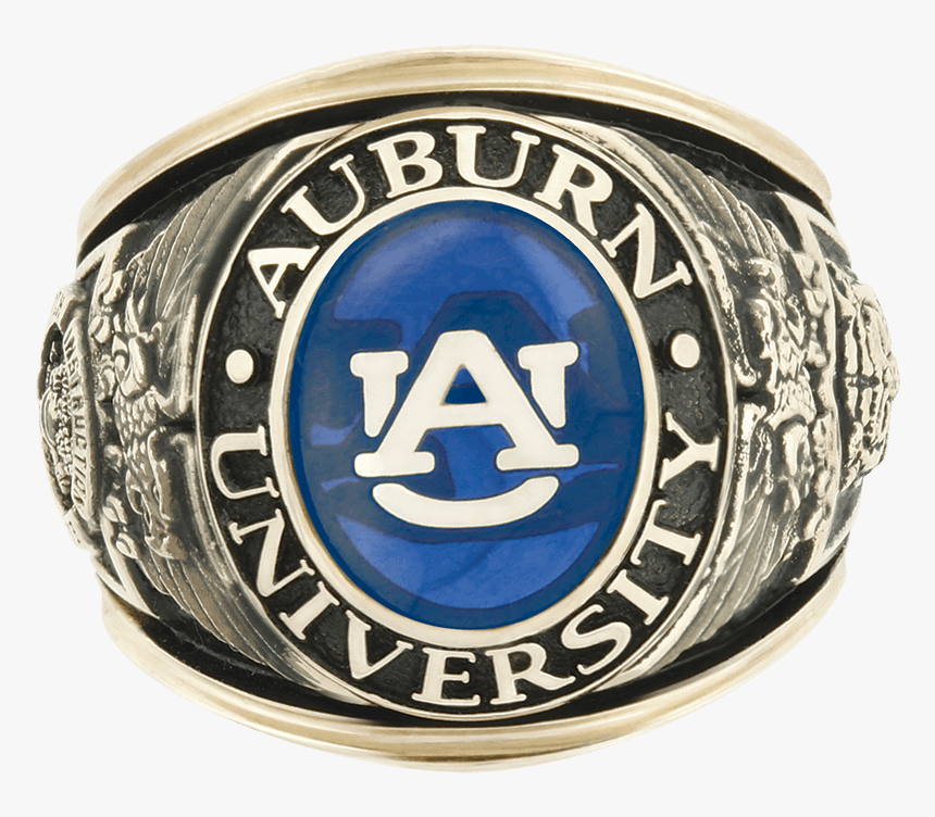 Auburn Class Ring Mens, HD Png Download, Free Download