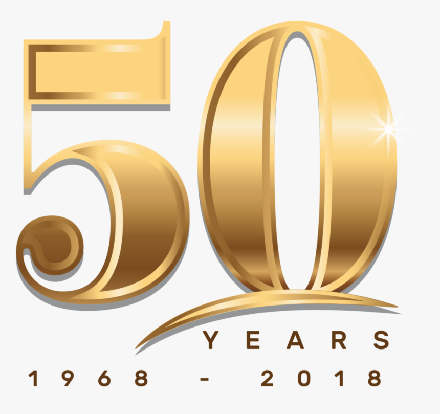 Transparent 50 Year Anniversary Clipart Golden 50th Anniversary Png Png Download Kindpng