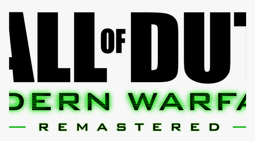 Call Of Duty Modern Warfare Remastered Png Transparent Png Kindpng