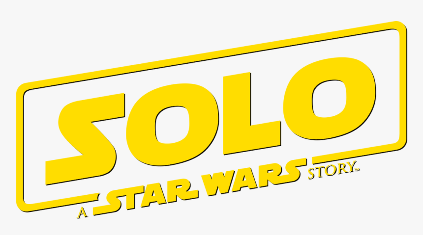 A Star Wars Story - Solo A Star Wars Story Title Card, HD Png Download, Free Download