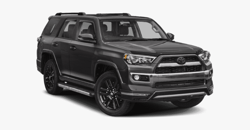 New 2019 Toyota 4runner Limited Nightshade - 2019 Toyota 4runner Nightshade Black, HD Png Download, Free Download