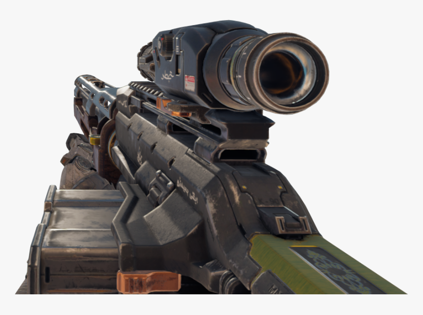 Transparent Black Ops 3 Characters Png - Cod Bo4 Sniper Png, Png Download, Free Download