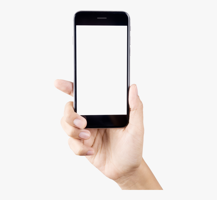 Phone In Hand Png - Mobile Phone Hand Png, Transparent Png, Free Download