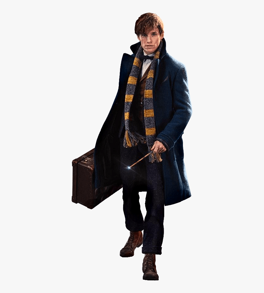 Eddie Redmayne As Newt Scamander - Fantastic Beasts And Where To Find Them Newt, HD Png Download, Free Download