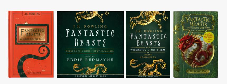 Jk Rowling Fantastic Beasts Series, HD Png Download, Free Download