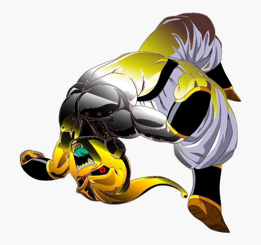 Gold Buu - Dragon Ball Z Kid Buu, HD Png Download, Free Download