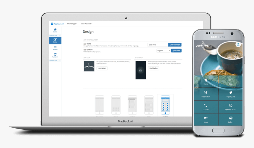 Create An Android App With Appyourself - Develop Android App, HD Png Download, Free Download