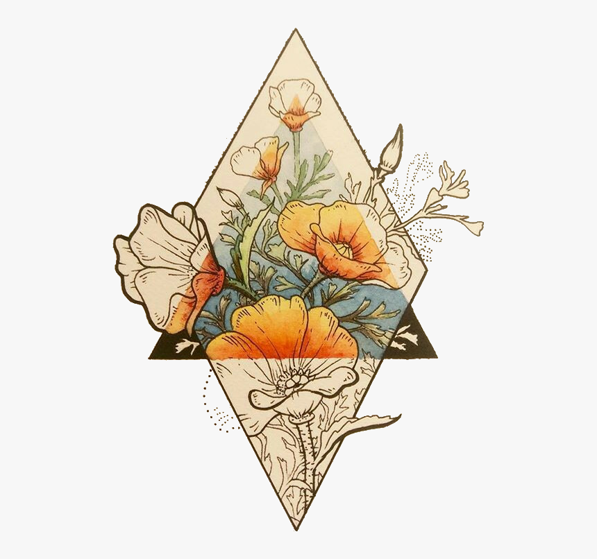 Transparent Fall Flower Clipart Geometric Flower Tattoos Designs Hd Png Download Kindpng,Functional Design Document