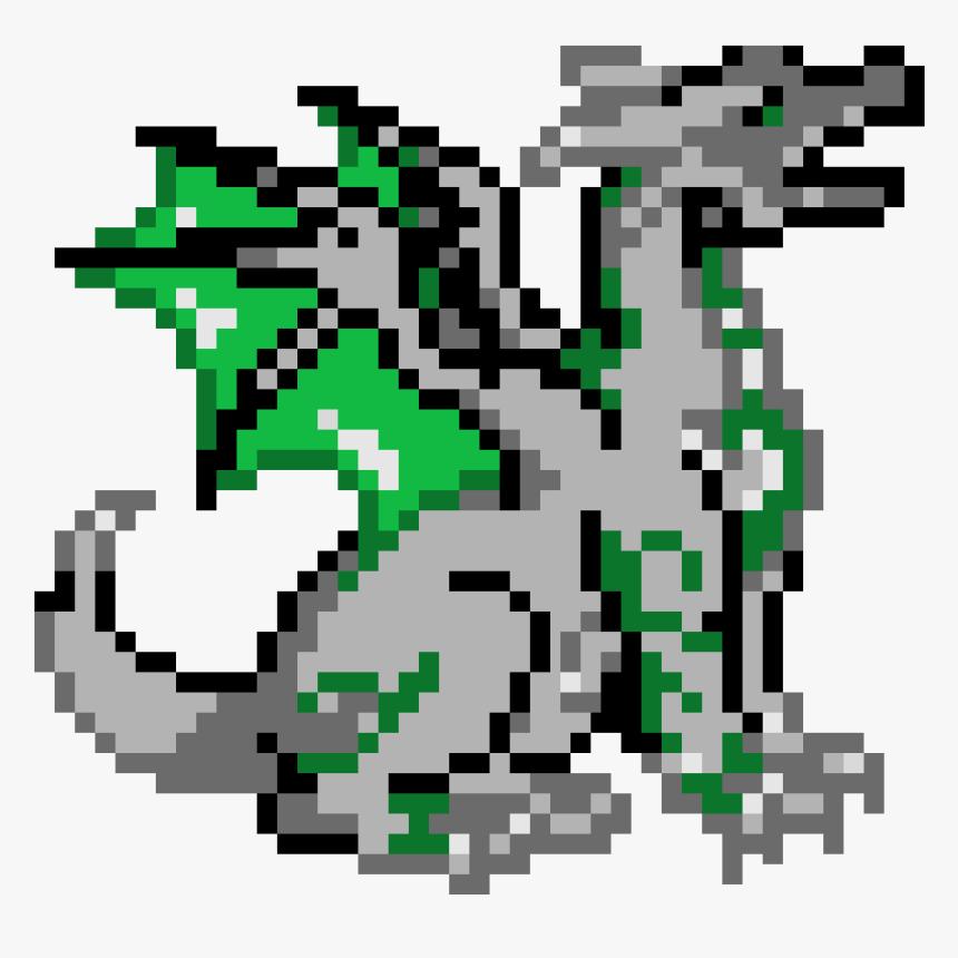 Dragon Png Pixel Art, Transparent Png, Free Download