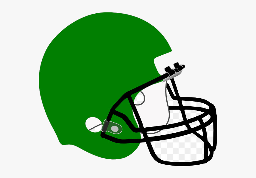 Football Helmet Green Clipart Nfl New England Patriots - Football Helmet Clipart Blue, HD Png Download, Free Download