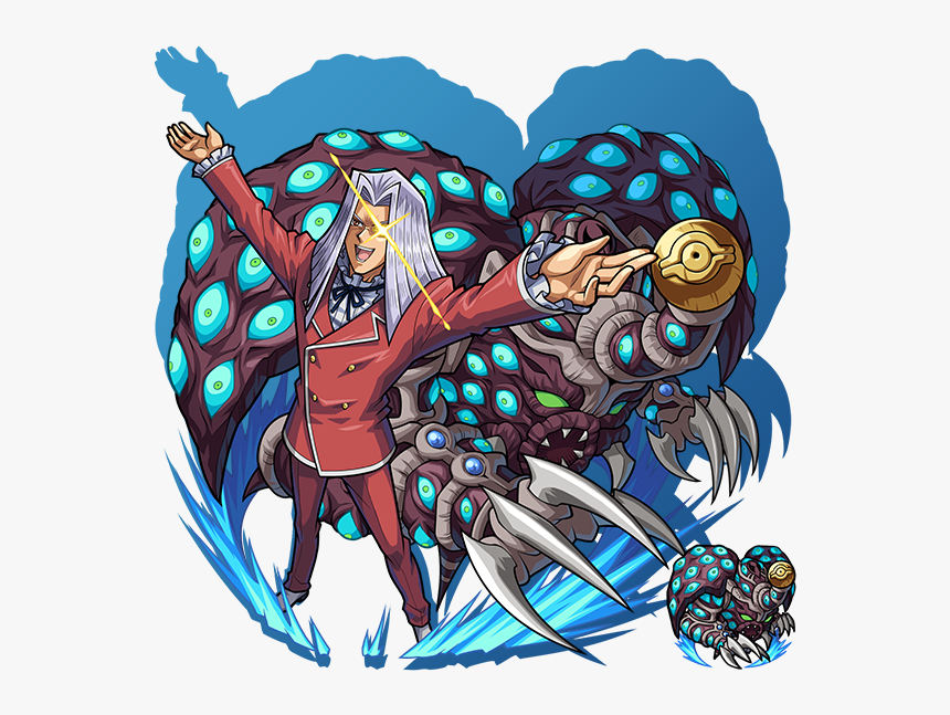 Anime, Monster Strike, Yu Gi Oh Duel Monsters, Yu Gi - Thousand Eyes Restrict Art, HD Png Download, Free Download