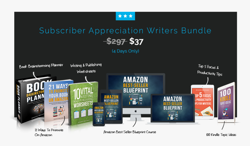 Grab This Bundle Now & Finally Boost Your Book To Best-seller - Online Advertising, HD Png Download, Free Download