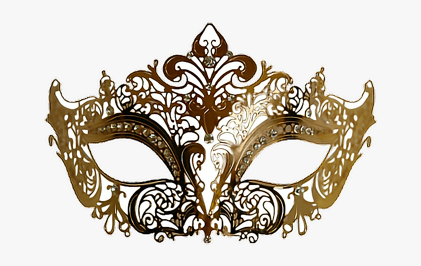 Gold Masquerade Mask Png , Png Download - Transparent Masquerade Mask Png, Png Download, Free Download