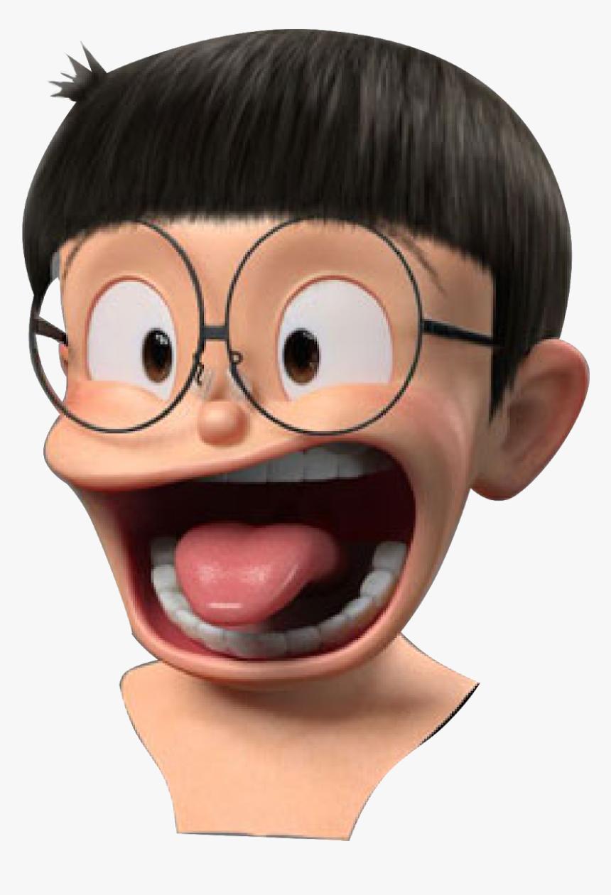 Kepala Nobita Png - Nobita 3d Head Png, Transparent Png, Free Download