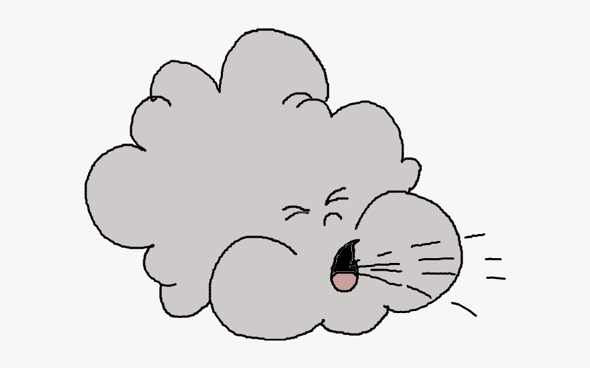 Wind Clip Art - Cute Wind Clipart Png, Transparent Png, Free Download