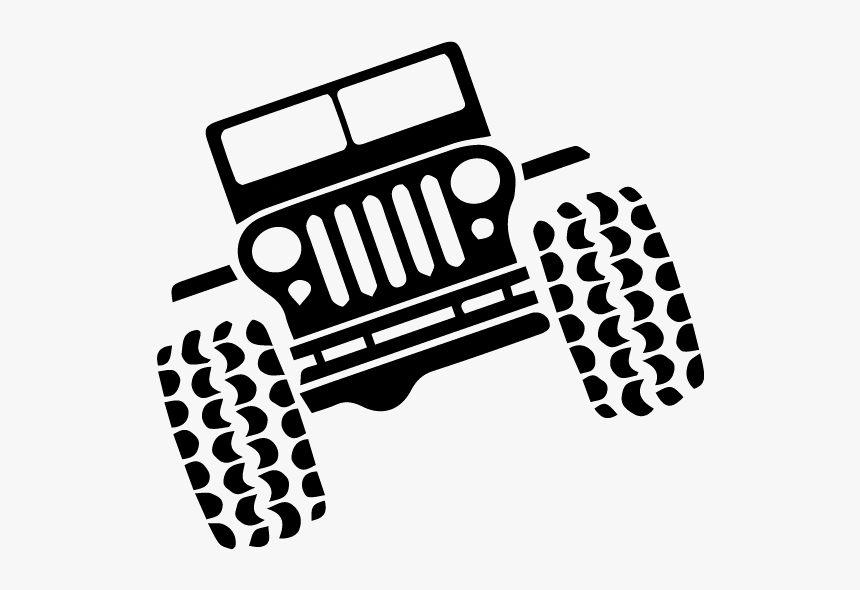Grill Clipart Jeep Wrangler - You May Go Fast But I Can Go Anywhere, HD Png Download, Free Download