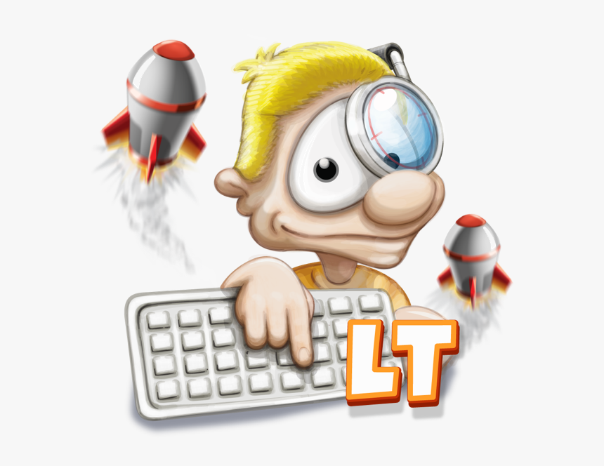Typing Fingers Lt - Typing, HD Png Download, Free Download
