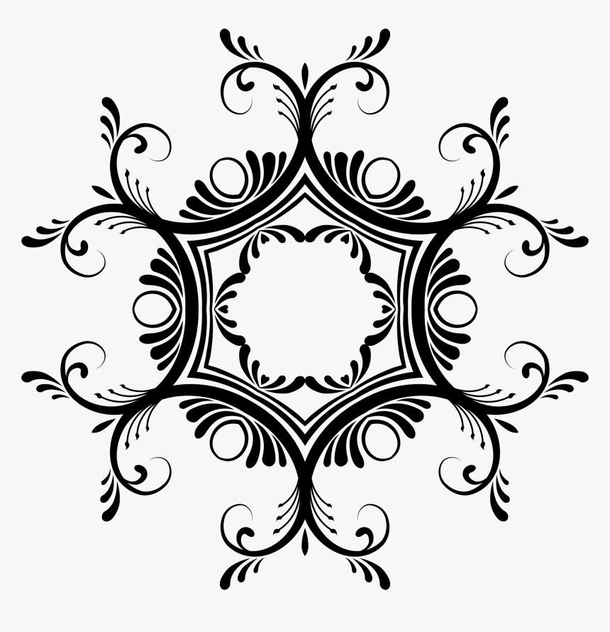 Transparent Decorative Lines Png - Hexagon Star Of David, Png Download, Free Download